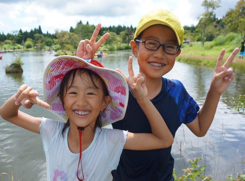 「ぼくと妹、この夏1番のスマイル」Y.T.さん